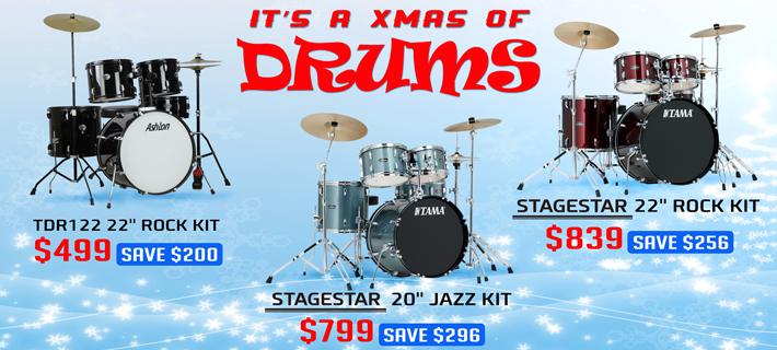 Xmas Drum kit Specials