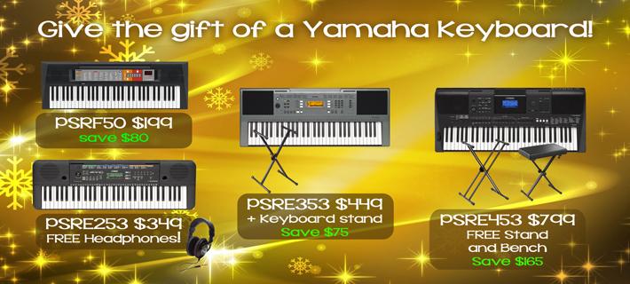 Yamaha Portable Keyboards for Xmas