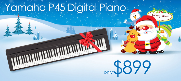 Yamaha P45 Digital Piano for Xmas!