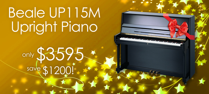 Xmas Beale UP115M Piano Special!