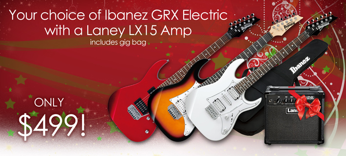 Ibanez GRX Guitar and Laney Amp for Xmas!
