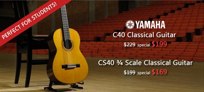 Yamaha Classical Specials!