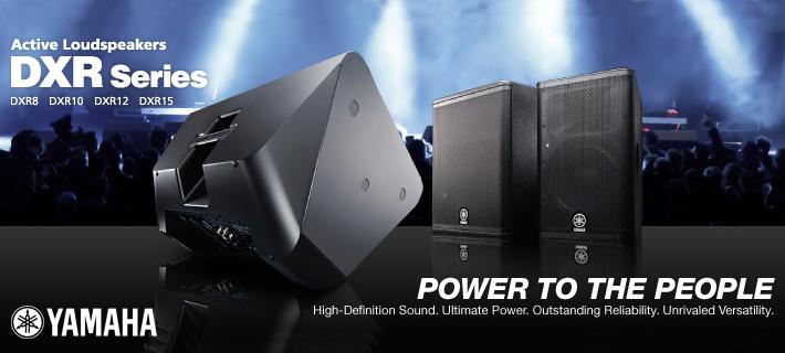 Yamaha DXR Active Speakers