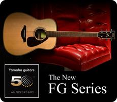 Yamaha New FG Series