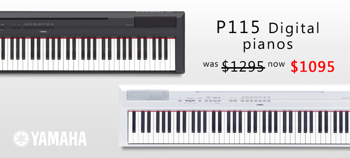 Yamaha P115 Digital Piano Special