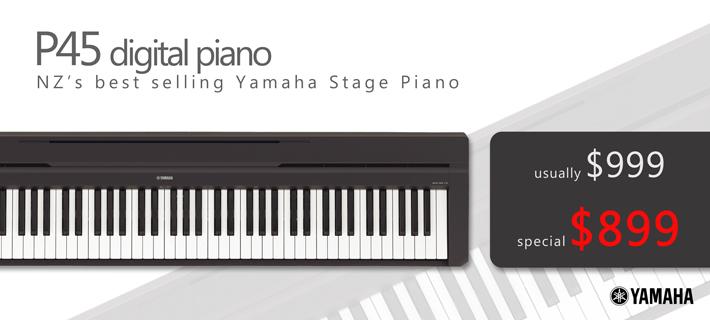 Yamaha P45 Digital Piano Special