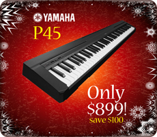 Yamaha P45 Xmas Special