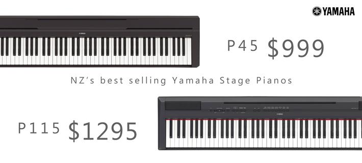 Yamaha P-Series Digital Pianos