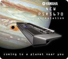 New Yamaha PSRS670 Keyboard Workstation