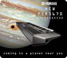 New Yamaha PSRS670 Keyboard Workstation