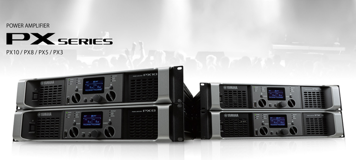 Yamaha PX Series Power Amplifiers