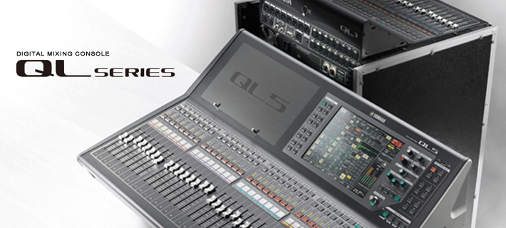 Yamaha QL Series Digital Consoles