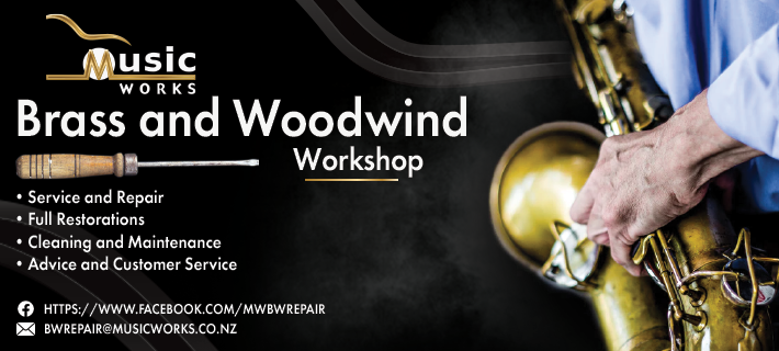 Check out our Brass and Woodwind repairshop. MusicWorks.