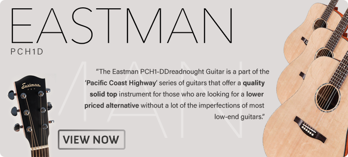 The Eastman PCH1D is now in stock at MusicWorks NZ