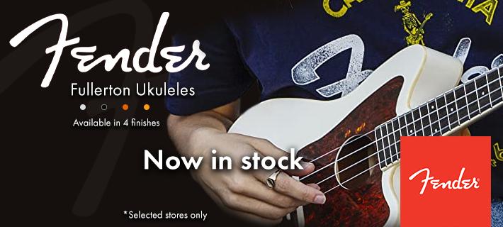 Fender fullerton ukulele's: now in stock at MusicWorks NZ