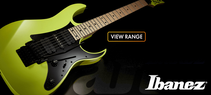 Check out our Ibanez Range at MusicWorks NZ