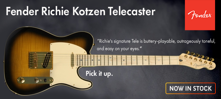 Ritchie Kotzen guitars are now in stock. buy nz.