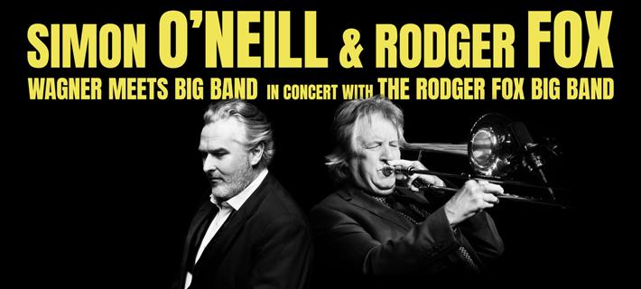 Roger Foxx and Simon O'Neill New Zealand Tour Poster