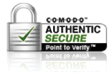 COMODO - AUTHENTIC SECURE = Point to verify