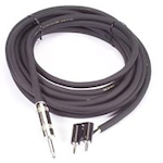 Peavey Speaker Cable 25ft 12 Gauge Jack to Banana 12GA2514BAN