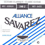 Savarez Classic Guitar String Classic Alliance Blue 540J