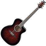 Ibanez Acoustic/Electric Guitar, Transparent Cherry A300ETCS