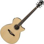 Ibanez Acoustic/Electric Guitar, Natural AEG10IINT