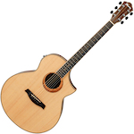Ibanez Exotic Wood Acoustic/Electric, Natural AEW21VKNT