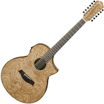 Ibanez Exotic Wood Acoustic/Electric 12 String, Natural AEW4012ASNT