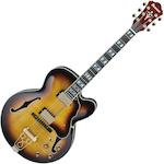 Electric Hollow Body Guitar