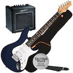 Ashton Electric Guitar Pack with GA10 Amp, Dark Blue AG232TDB-GA10
