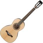 Ibanez Artwood Vintage Acoustic Guitar Solid Spruce Top, Natural AVN3NT