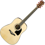 Ibanez Artwood Acoustic All Solid Guitar, Natural AW3000NT