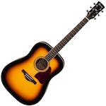 Ibanez Artwood Acoustic Solid Top, Vintage Sunburst AW300VS