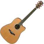 Ibanez Artwood Acoustic/Electric Guitar All Solid, Low Gloss AW3050CELG