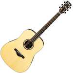 Ibanez Artwood Acoustic All Solid Guitar, Low Gloss AW3060LG