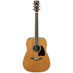 Ibanez Artwood Acoustic Solid Cedar Top, Natural AW370NT
