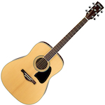 Ibanez Artwood Acoustic Solid Spruce Top, Natural AW70NT