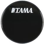 Tama 18 inch Logo Drum Head, Black BK18BMTW