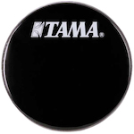 Tama 20 inch Logo Drum Head, Black BK20BMWS