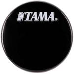 Tama 20 inch Logo Drum Head, Black BK20BMWS