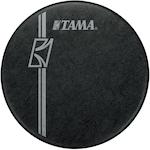 Tama 22 inch Hyperdrive Logo Drum Head, Black BK22BMFH