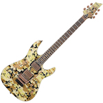 Schecter C1 Floyd Rose Limited Edition, Desert Camo C1CAMOFRLTD
