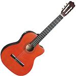 Ashton Electric Acoustic Guitar Cutaway, Natural CG44CEQAM