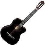 Ashton Electric Acoustic Guitar Cutaway, Black CG44CEQBK