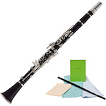 Ashton Student Clarinet with Maintenance Pack CL10-CMP100