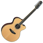Yamaha CPX Acoustic Electric Guitar, 12 String, Natural CPX700IINT12