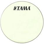 Tama 20 inch Silverstar Logo Drum Head, Vintage White CT20BMSV