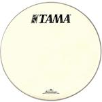 Tama 20 inch Starclassic Logo Drum Head, Vintage White CT22BMOT
