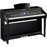 Yamaha Clavinova Digital Piano, CVP601, Polished Ebony CVP601PE